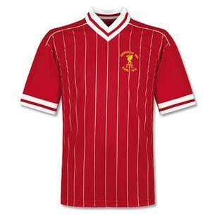 Liverpool 1984 European Cup Final Retro Football Shirt-Toffs