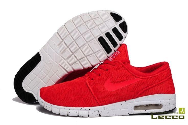 Женские кроссовки Nike SB Stefan Janoski Max Red