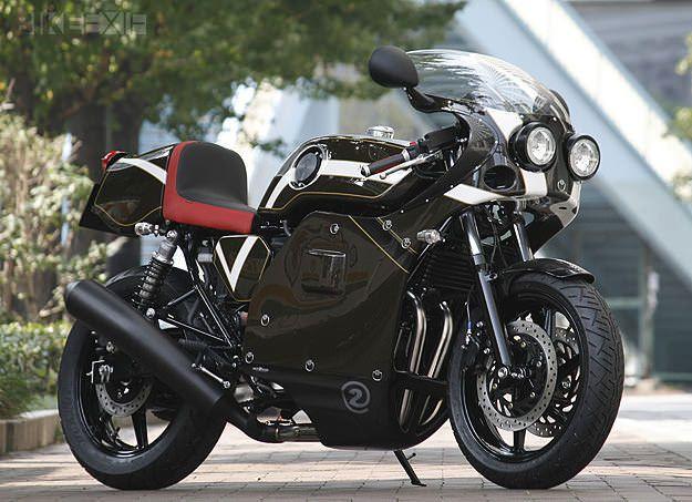Honda CB750 custom motorcycle by Whitehouse and Motorimodo