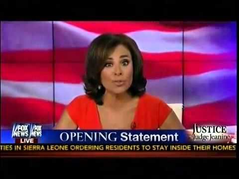 Judge Jeanine to Obama: How many beheadings of Americans are 'manageable?' - BizPac Review 9-7-14 She was explosive!