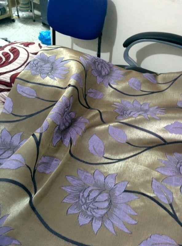 Premium Poly Silk Curtain. This liiks Fabulous.