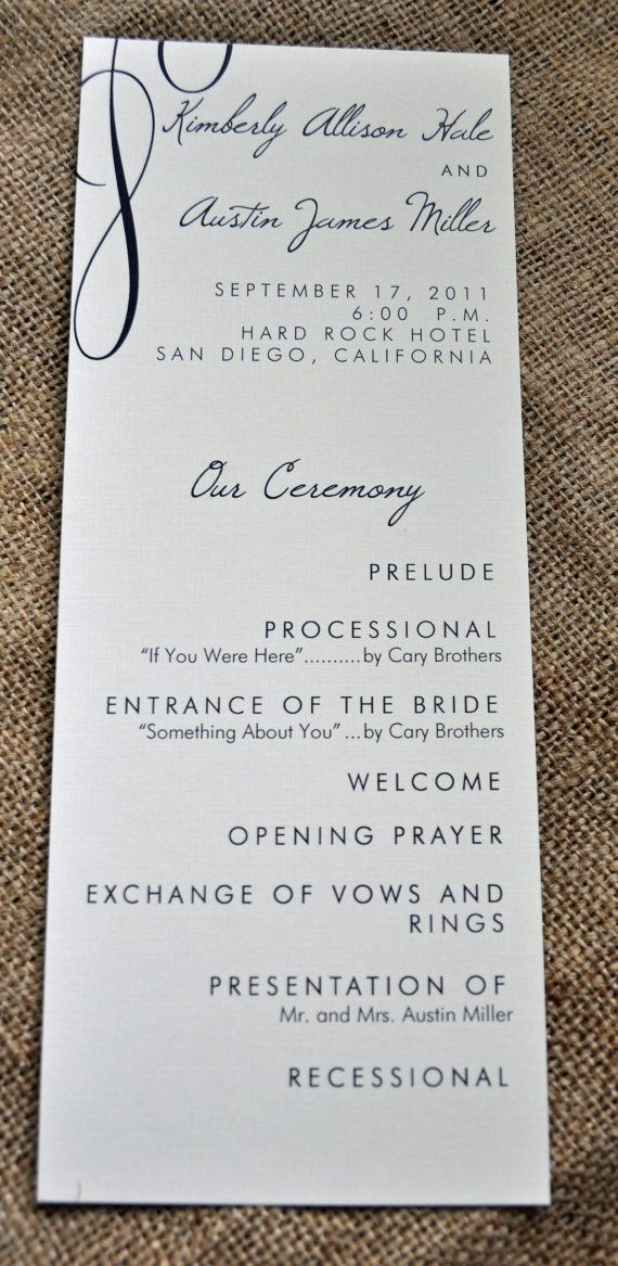 100 Vintage Tea Length Wedding Programs by WiregrassWeddings, $80.00