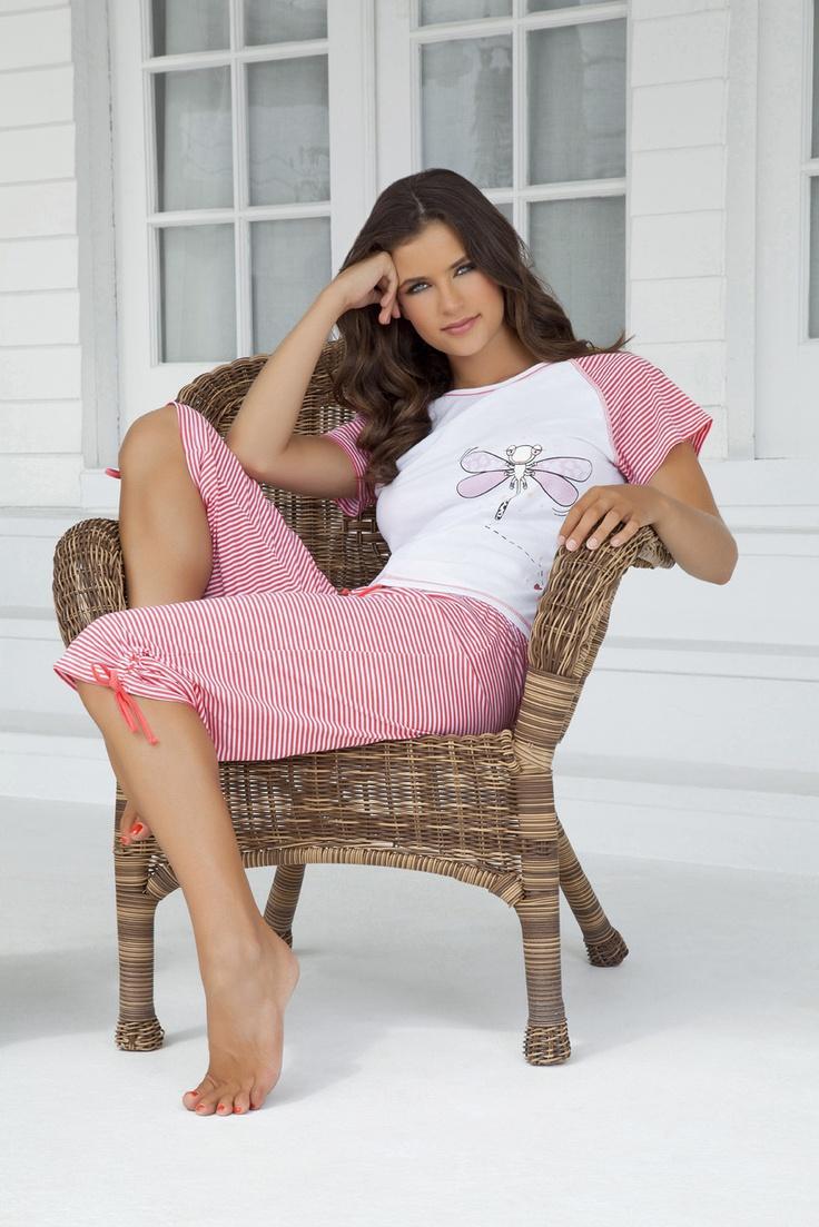 Ref. 284 Pijama manga corta-pescador S,M,L,XL / www.dlunaas.com