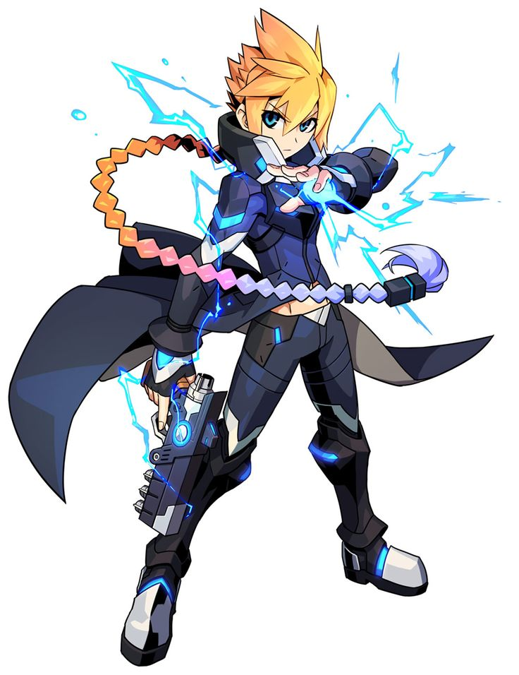 Gunvolt from Azure Striker Gunvolt 2