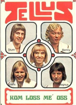 seventies swedish hearththrobs - the jellys