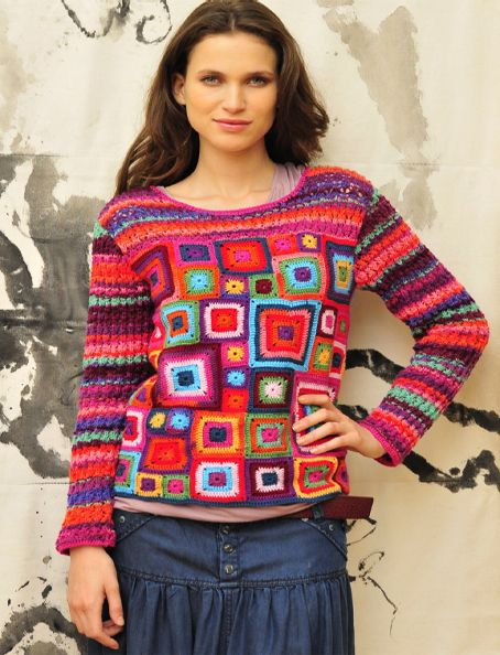 Sylvester Granny Knitting : Best images about granny square clothing on pinterest