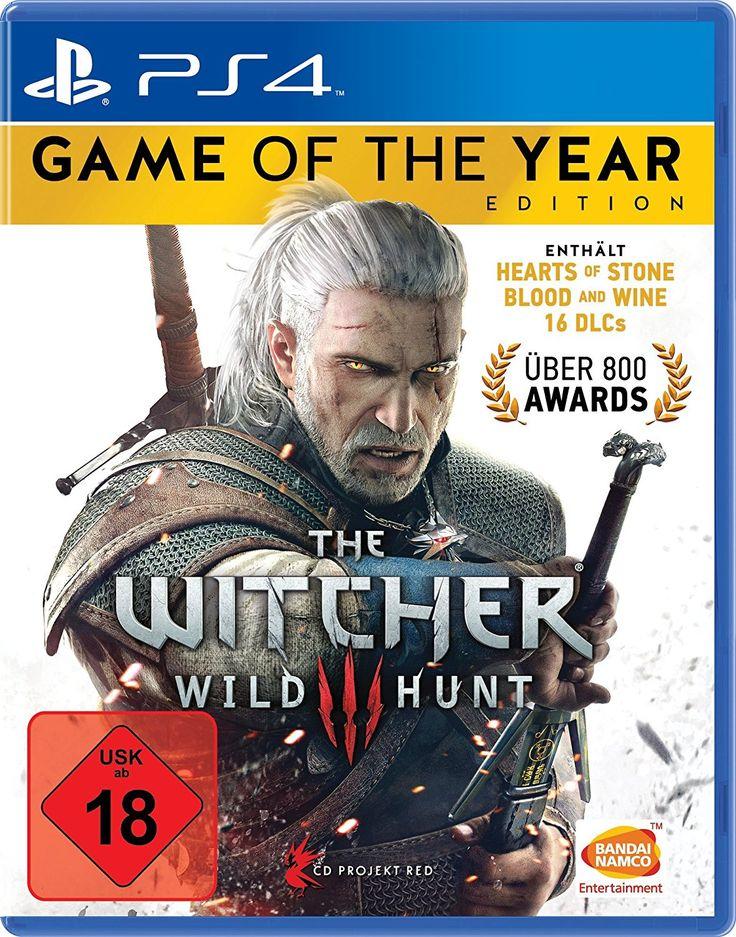 Heute ist ein guter Playstation Tag! Bei amazon gibt es gerade das Spiel The Witcher 3: Wild Hunt in der Game of the Year Edition für 22,97€.   #Amazon #Computerspiele #Game #Konsole #Playstation #PS4 #TheWitcher3