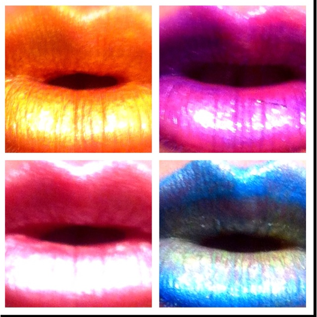 Lip color made with MAC pigments by Carly MassieCars Massy, Lip Colors, Mac Pigment, Lips Colors