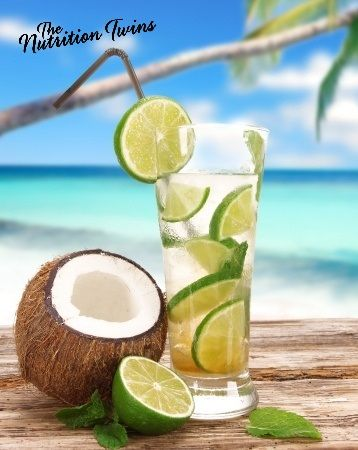 Lemon-Lime Detox Spritzer! | Delish!| Goodbye puffiness, extra weight and bloat! Only 6 refreshing calories! | For MORE RECIPES & Nutrition & Fitness Tips please sign up for our FREE NEWSLETTER www.NutritionTwins.com