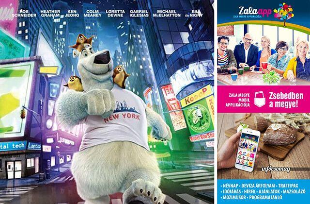 Norm, az éjszaki animációs film a zalai mozikban! Zsebedben az infócsomag! - (02. 23.) Zala app, Zala megye ingyenes mobil alkalmazása!
