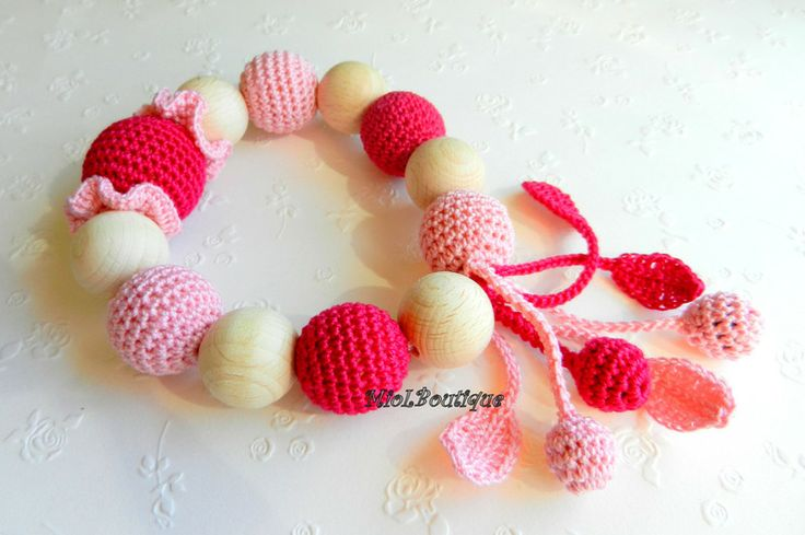 Baby Toy Rattle Baby teether from MioLBoutique by DaWanda.com