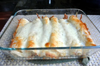 Mom, What's For Dinner?: White Chicken Enchiladas (Original Recipe for White Chicken Enchiladas)   Great recipe...combined it with Ranch Chicken Enchilada Recipe.