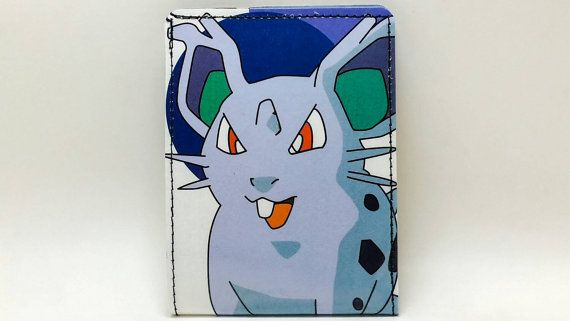 Check out this item in my Etsy shop https://www.etsy.com/listing/246301589/sewn-comic-book-wallet-pokemon-handbook