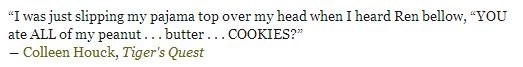 """""""YOU ATE ALL OF MY PEANUTBUTTER COOKIES!?"""""""
