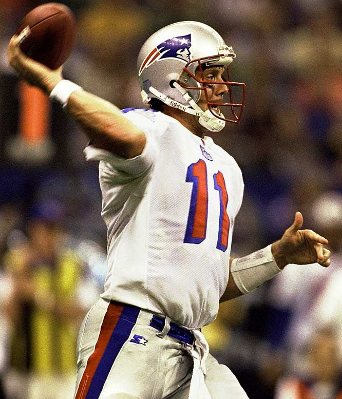 Drew Bledsoe, New England Patriots