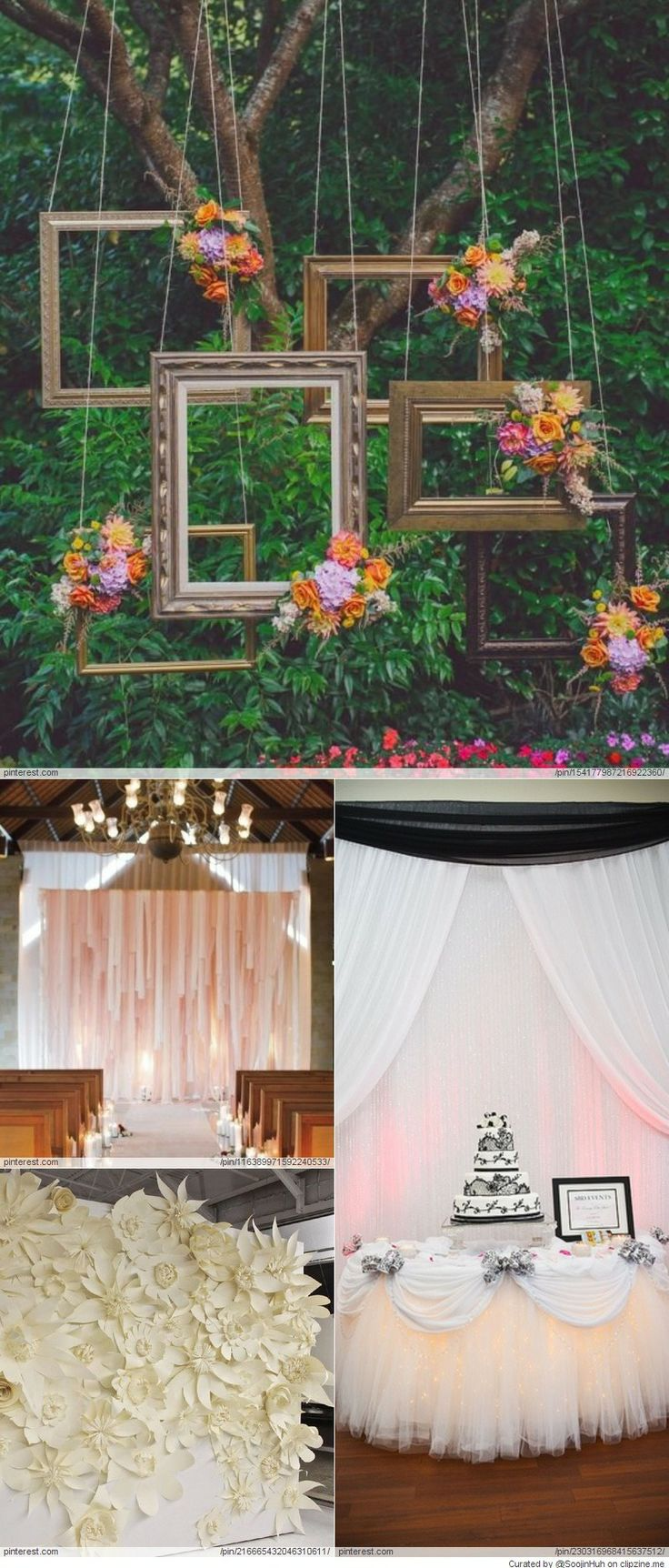 Wedding Backdrop DIY Ideas