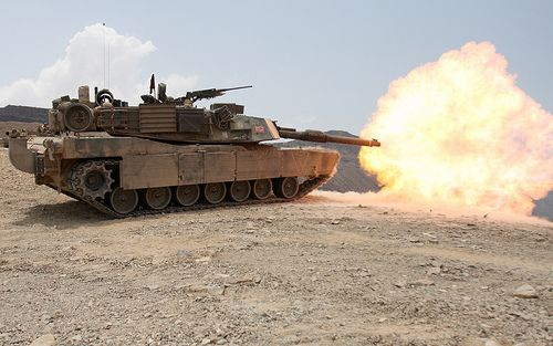 M1 Abrams Tank Hi Res Photo
