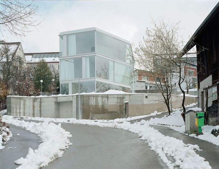 christian kerez walter mair house with one wall divisare - Single Wall Home Design