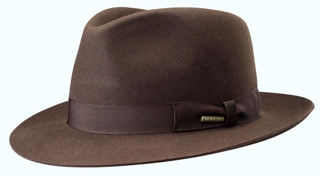 Cappello Stetson Penn feltro fedora hat