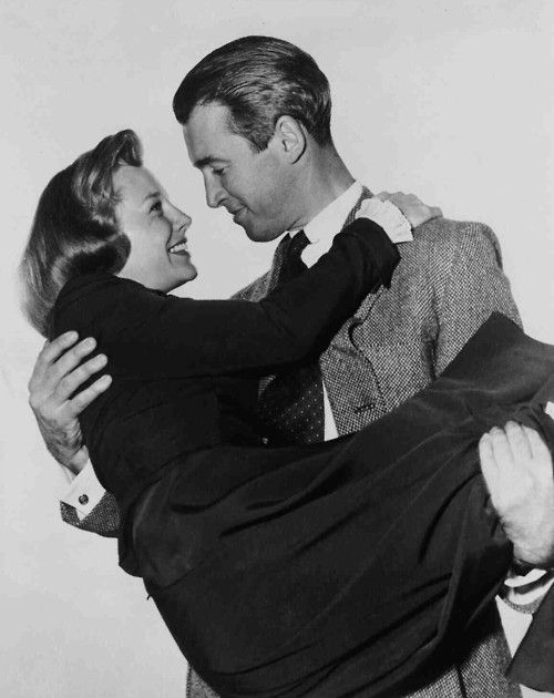 June Allyson and James Stewart in The Stratton Story, 1949