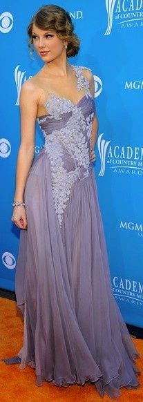 Taylor Swift Wisteria Gown