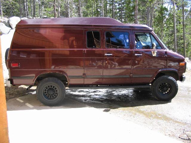 Off Road RV Vans