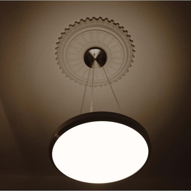 Stucco & Modern Lamp