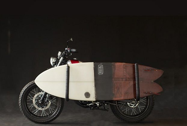 Motorcycle with Surfboard Rack Gets You to the Waves in Style : Discovery News