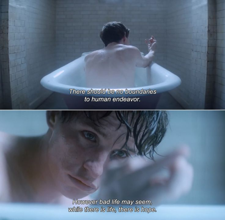 The Theory of Everything (2014) • Stephen: There should be no boundaries to human endeavor. However bad life may seem, while there is life, there is hope.
