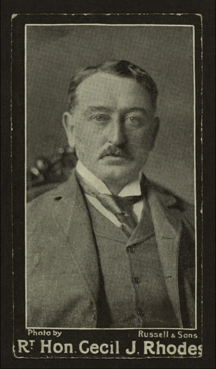 Cecil Rhodes Founded Rhodes Scholarship in England