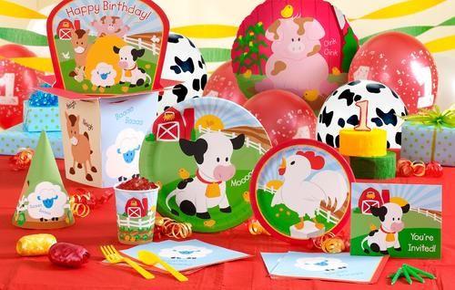 Fiesta en la granja ideas para decorar la primera fiesta - Ideas para cumpleanos infantiles ...
