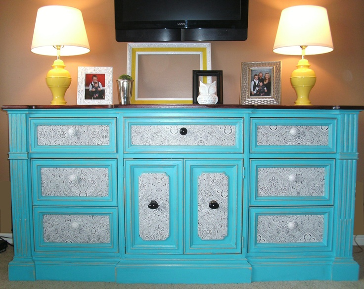 Turquoise on Pinterest  Islands, Cabinets and Turquoise cabinets