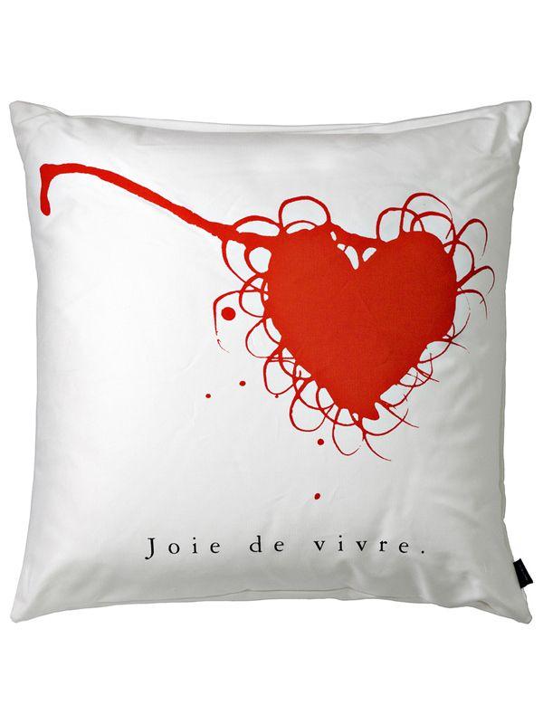 Una linea di cuscini minimal conferiscono alla casa un'atmosfera romantica e gioiosa. Cuscino realizzato in cotone bianco, tessuto: 100% cotone.Spedizione: 5 giorni