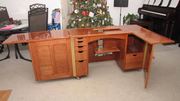 plans to build a sewing cabinet- Product Review for Deluxe Sewing Center Plan - Rated 5 Stars