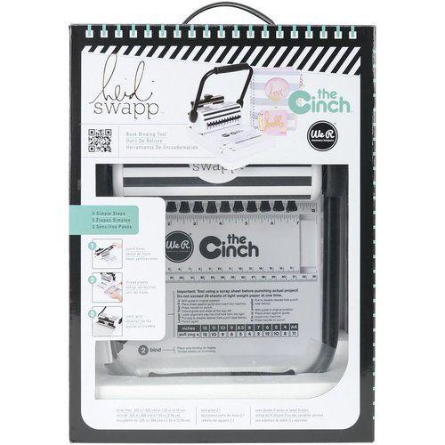 We R Memory Keepers - The Cinch Bindery Tool - Heidi Swapp ...