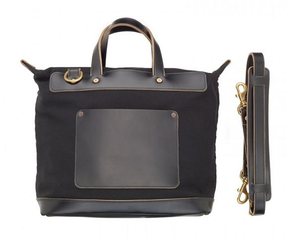 RANCOURT AND COMPANY - Men's daily carryall tote bag. Made in the USA.