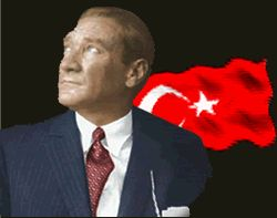 Hareketli Türk Bayrağı Gifleri-Bayrak Animasyonları-Dalgalanan Türk Bayrağı Gifleri-Türk Bayrağı - Vazgecmem.NET