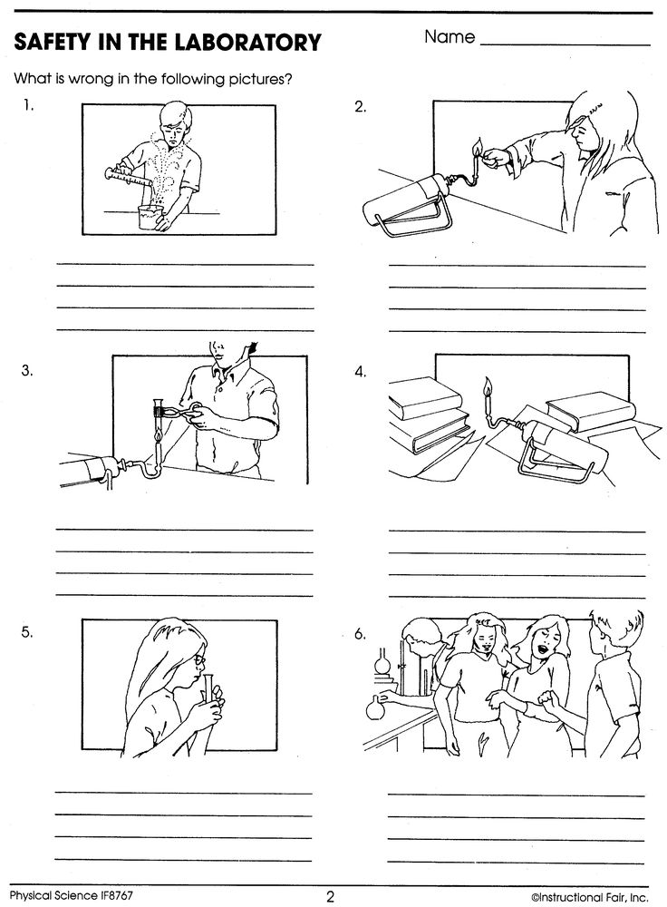 Worksheets Science Lab Safety Worksheet 17 best images about safety in the science lab on pinterest activity laboratory pictures