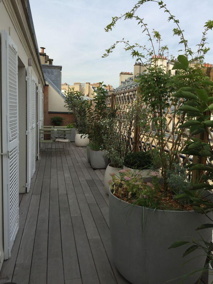 Comment amnager un balcon filant Parisien