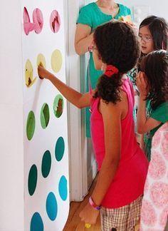 Preciosa fiesta con juegos y actividades para niños                                                                                                                                                                                 Más