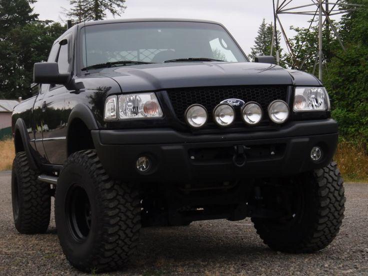 ranger - 2000 Ford Ranger Black