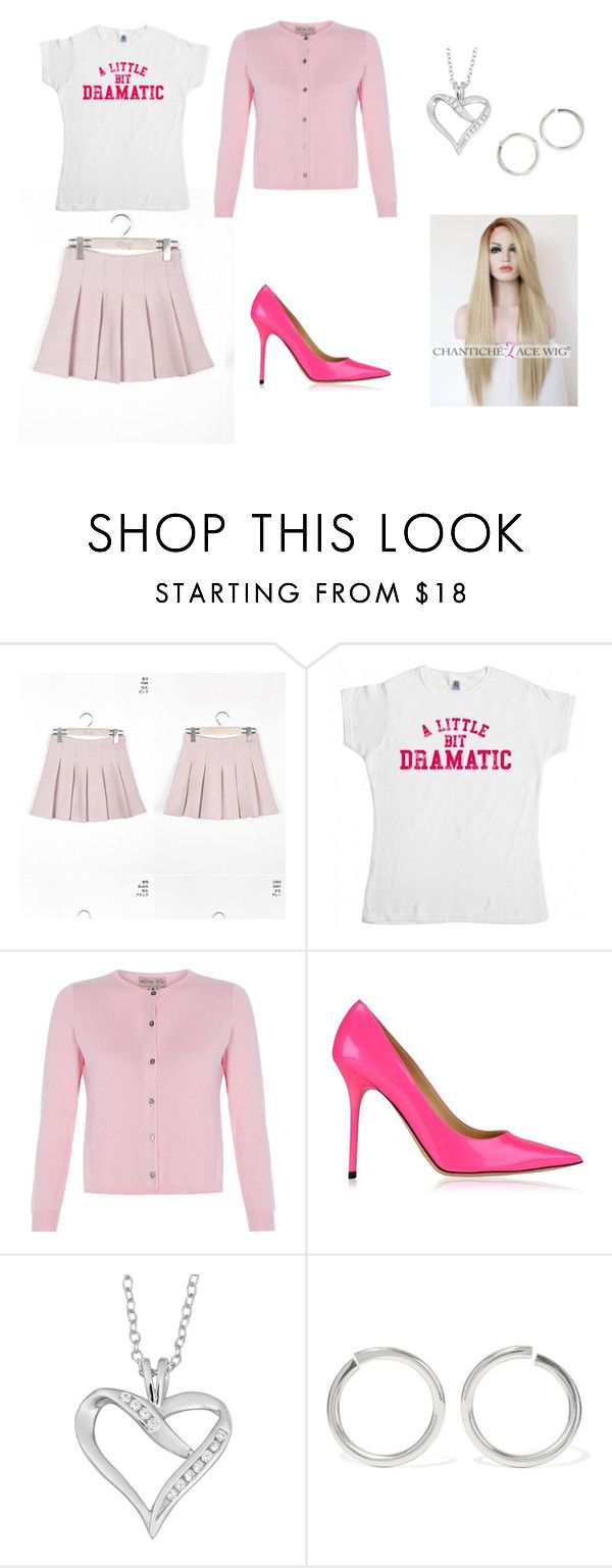"""""""Mean Girls"""" Regina George Costume by oliviaf14 on Polyvore featuring Jimmy Choo, Sophie Buhai and Fremada"""
