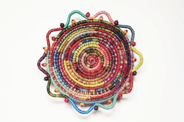 Elaine Kingsford  Coiled basket