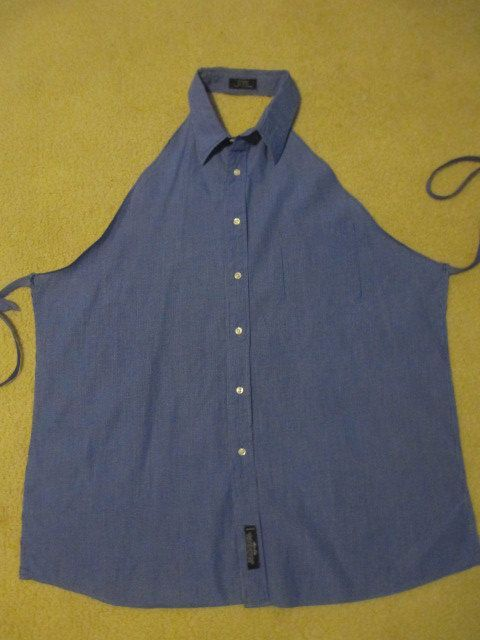 25 Borderline Genius Ideas in Pictures - Creative DIY idea for making a shirt into an apron.