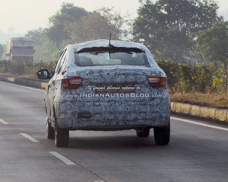 Tata Kite 5 sedan spied testing near Pune