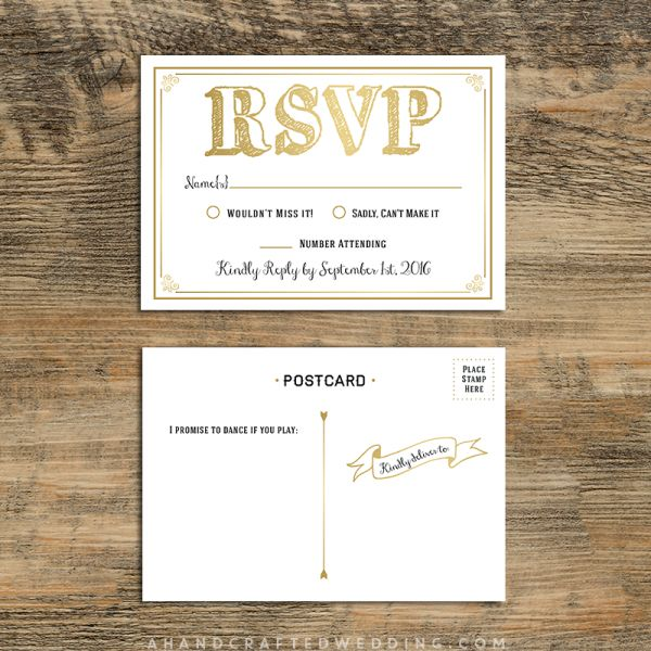 21 best Wedding Invitations images on Pinterest Bridal - postcard format template