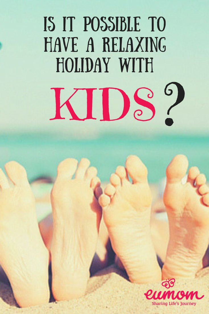 Is It Possible To Have A Relaxing Holiday With Children?** Summer holiday season is well and truly upon us. There's nothing like a well-deserved week or two away from reality to reboot the energy levels. While a completely stress-free holiday might not be totally possible, a fun and chilled out one, however, might be doable. So if you are planning a holiday, at home or abroad, by plane or by car, here are some practical, tried and tested tips from our expert moms!