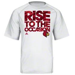 Louisville Cardinals adidas Impact Basketball On-Court Camo Climalite Shooting T-Shirt -White $29.99 http://www.fansedge.com/Louisville-Cardinals-adidas-Impact-Camo-climalite-Shooting-T-Shirt--White-_929082279_PD.html?social=pinterest_pfid59-00149
