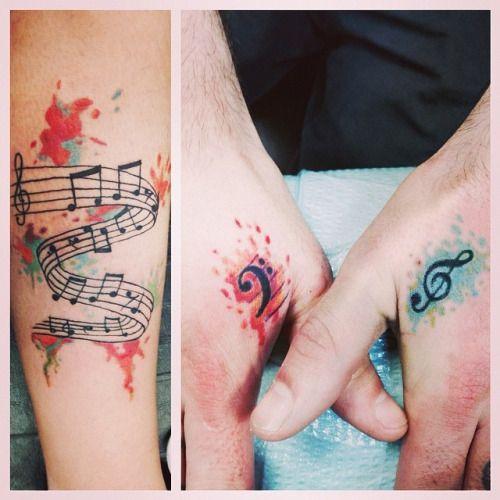 Love the treble clef! More
