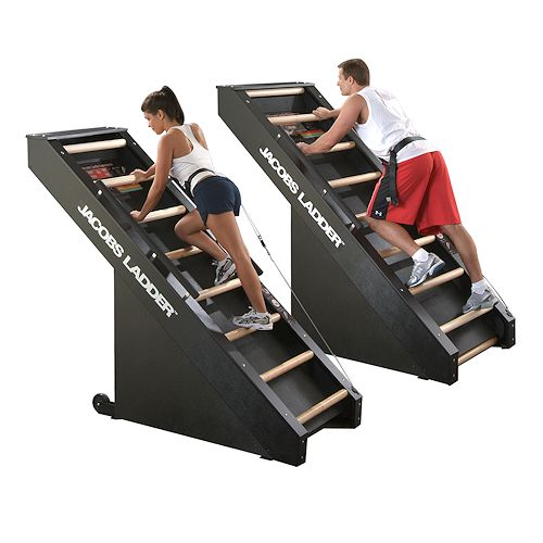 Jacobs ladder...a seriously intense workout